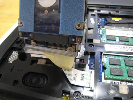 ハードディスク(HDD)の取り外し その4
