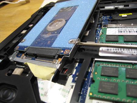 ハードディスク(HDD)の取り外し その5
